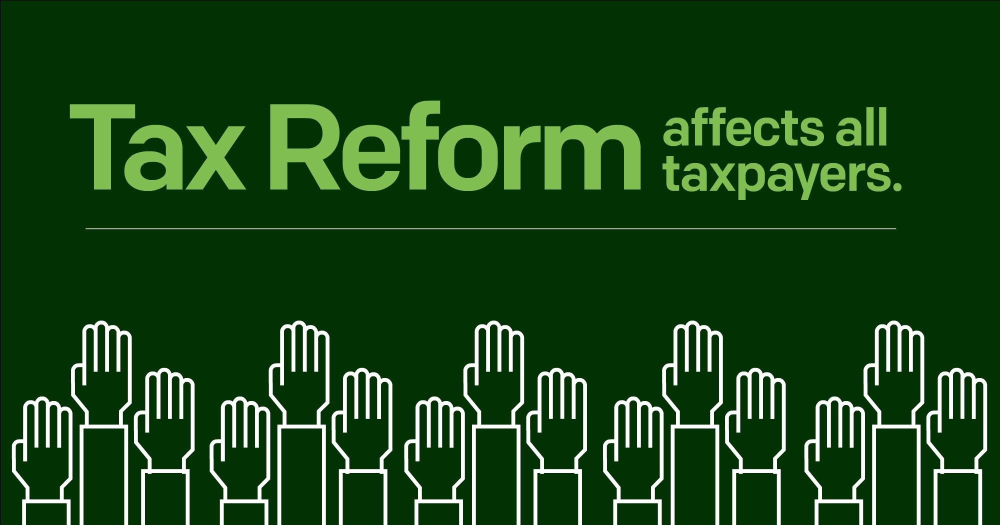 Tax Reform is Here